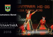 Parade Tari Nusantara 2016 : Lengking Manggopoh, Sumatera Barat