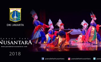 Parade Tari Nusantara 2018 Topeng Jintrik DKI Jakarta