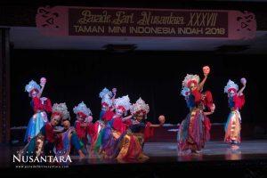 Parade Tari Nusantara 2018 Topeng Jintrik DKI Jakarta 02